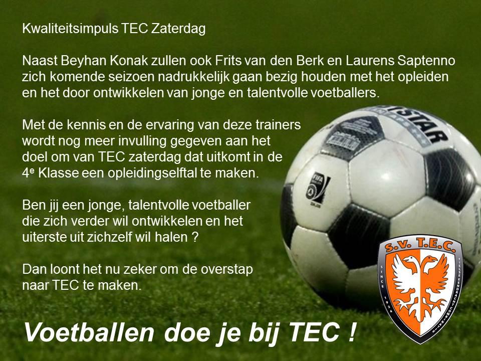 TEC zaterdag 1