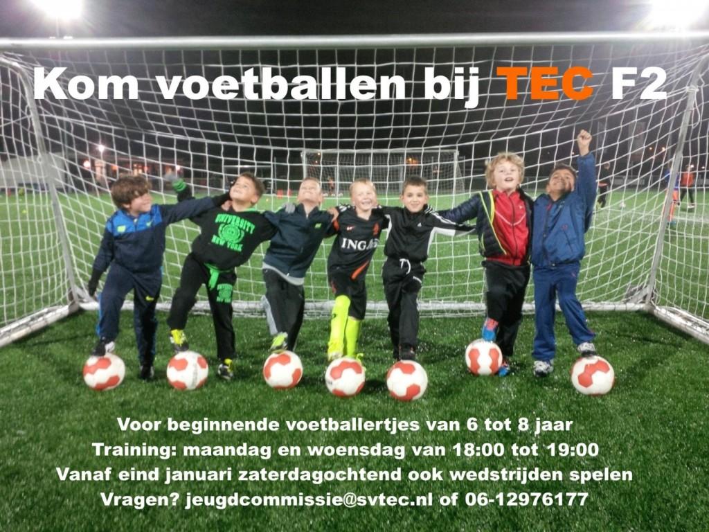Kom voetballen bij TEC F2