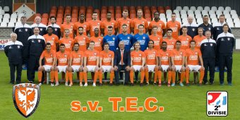 Tiel 17-07-2016 Perspresentatie TEC, eerste elftal, selectie, iov TEC. Foto Raphael Drent, Tiel.