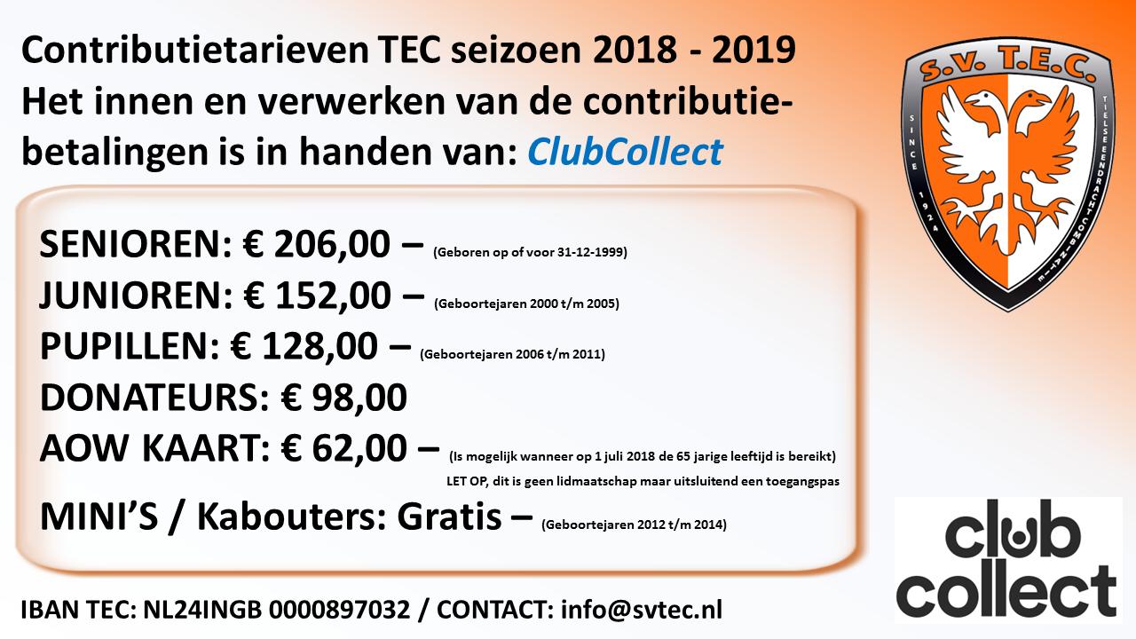 Contributie TEC
