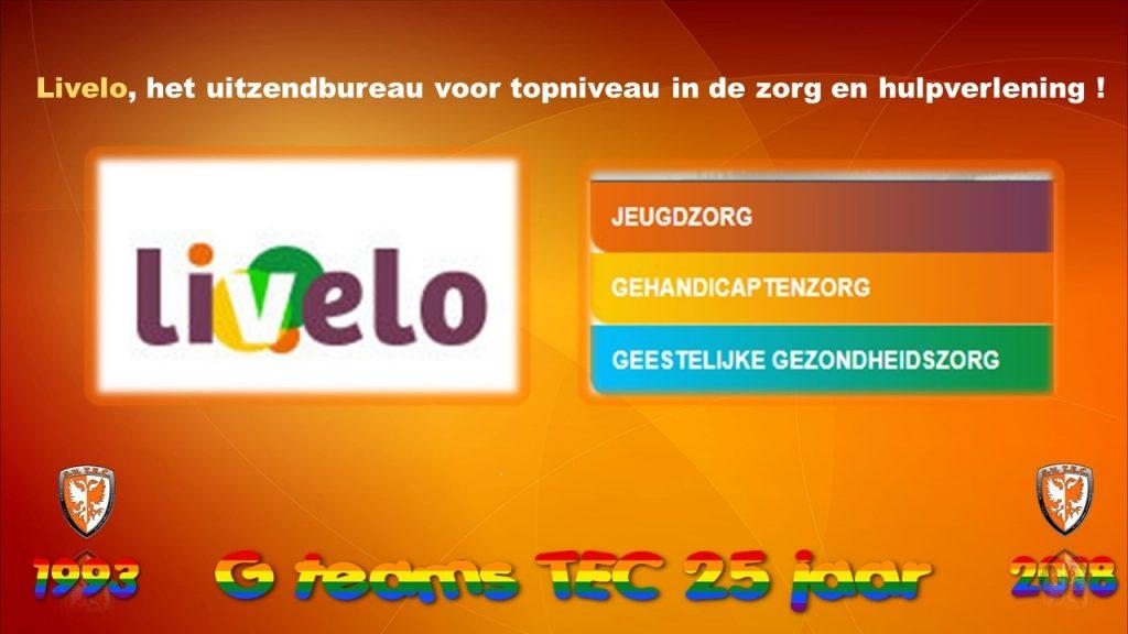 Livelo Zorg Personeel nieuwe sponsor G-afdeling TEC