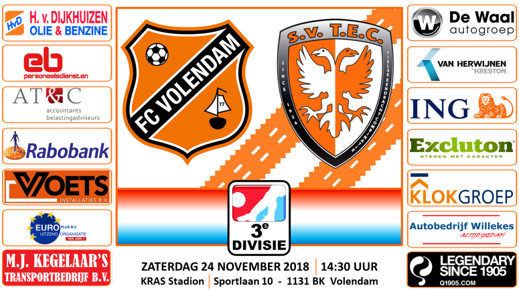 FC Volendam - TEC