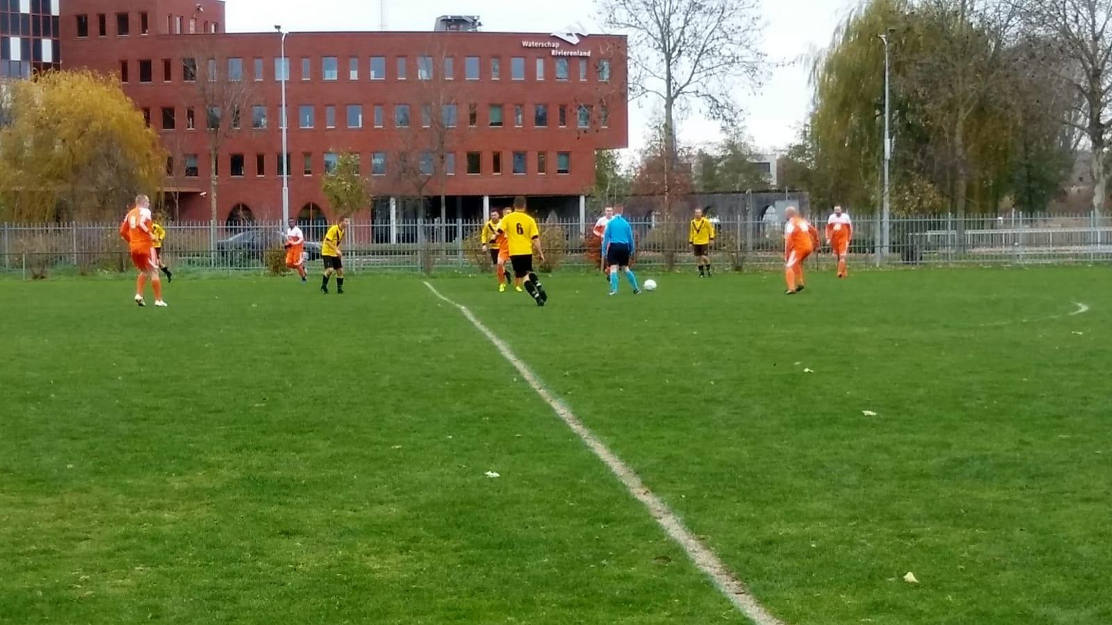 Competitiewedstrijd TEC 2 - SV Meerkerk 2