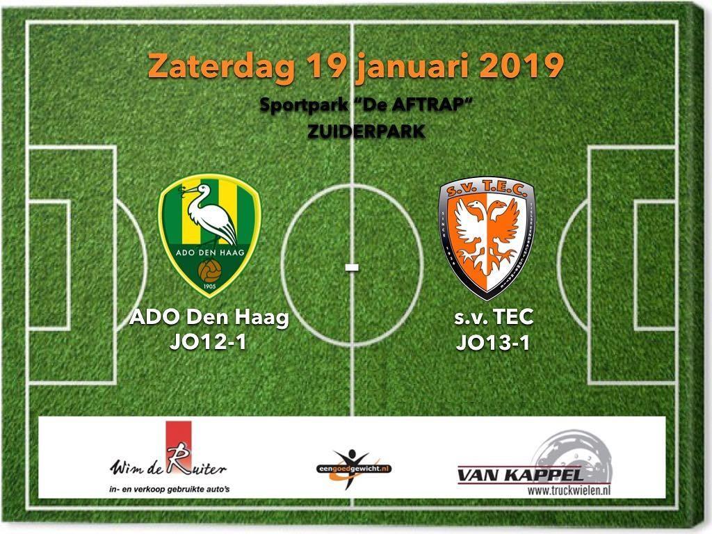 ADO Den Haag JO12-1 – TEC JO13-1 1