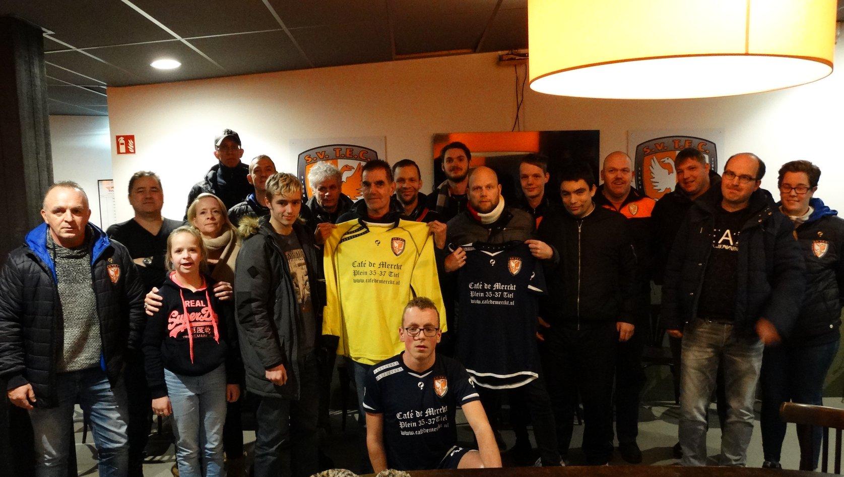 Cafe de Merckt sponsor G-teams TEC 6