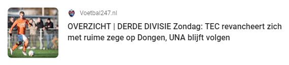 Dongen – TEC