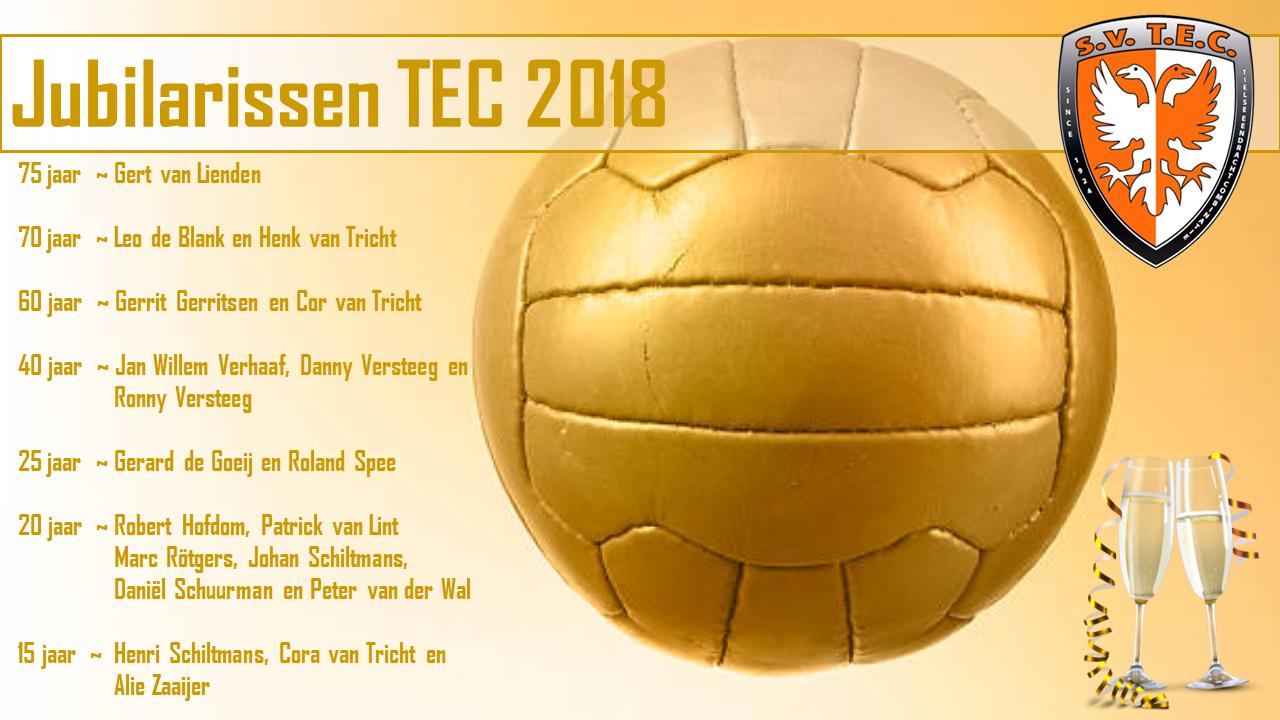 Jubilarissen TEC 2018