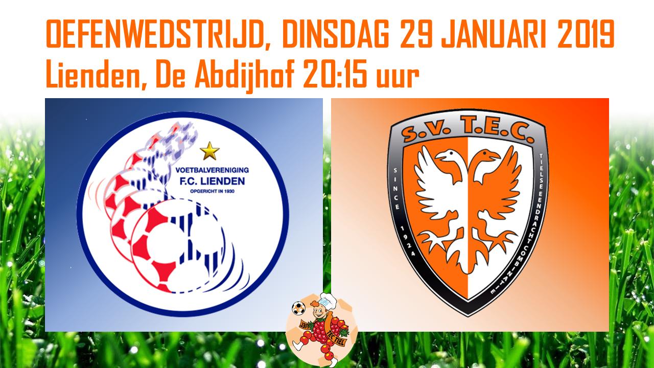 🧡| Oefenwedstrijd FC Lienden - TEC (combinatie-elftal)