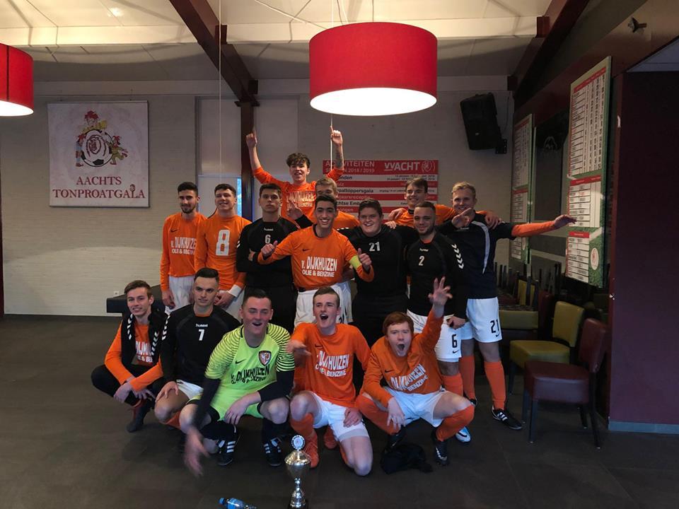 """TEC JO19-1 wint de """"Achtse Cup"""""""