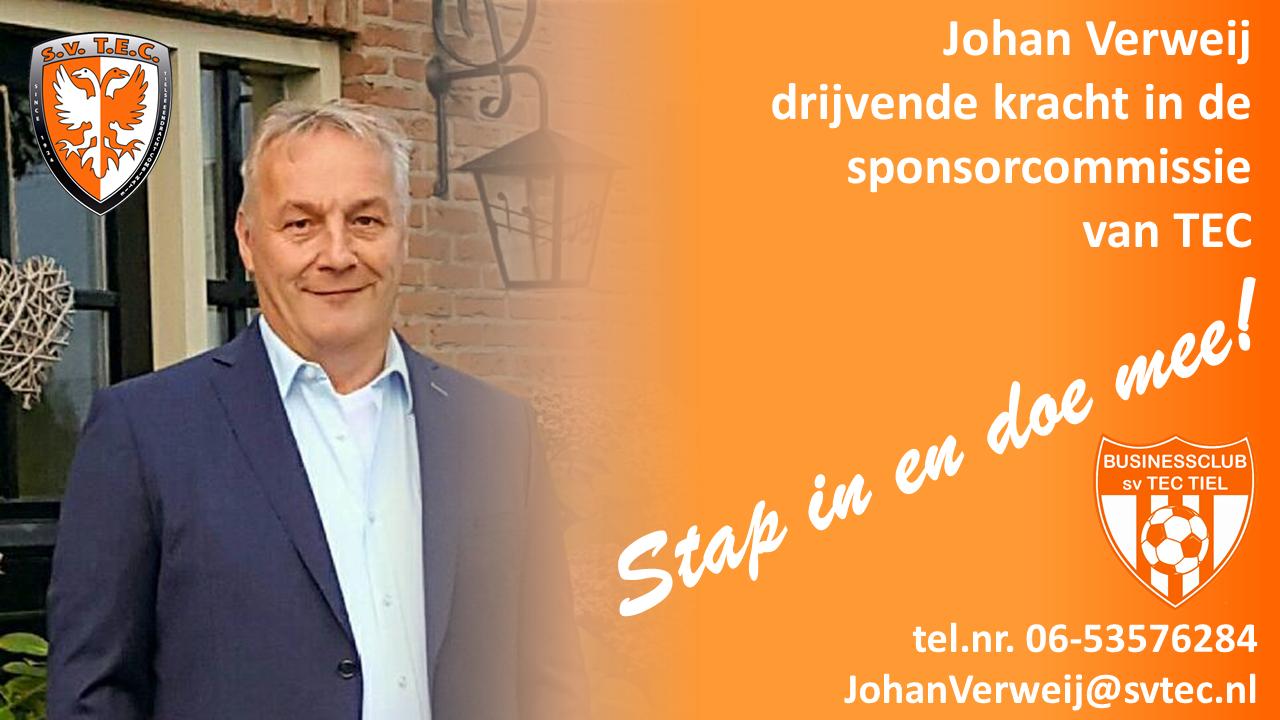 Johan Verweij Sponsorcommissie