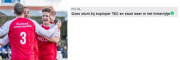 TEC - Goes in het nieuws