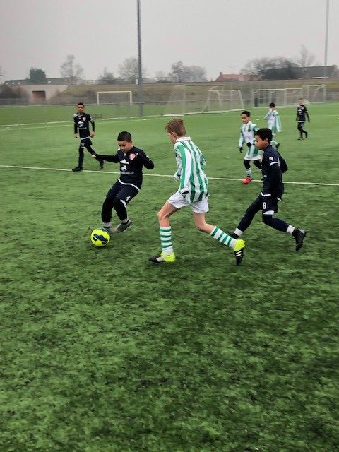 Verslag oefenwedstrijd TEC JO12-1 - s.v. Spero JO12-1