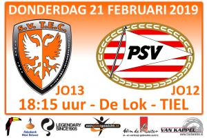 Oefenwedstrijd TEC JO13-1 - PSV JO12 @ Sportpark De Lok