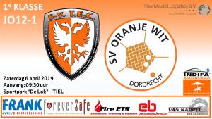 TEC JO12-1 - Oranje-Wit JO12-1