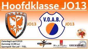 TEC JO13-1 vs. VOAB JO13-1