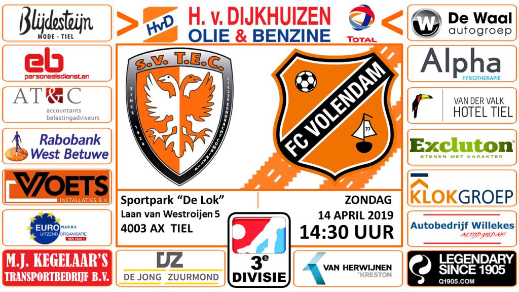 TEC - Jong FC Volendam