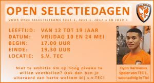 Open Selectiedag TEC