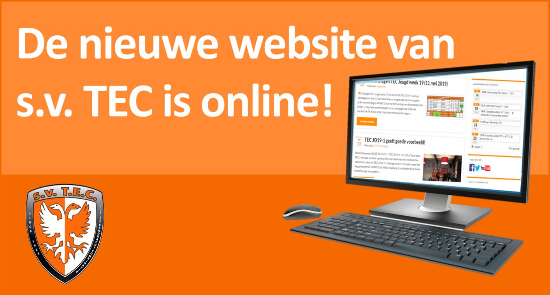 Nieuwe website TEC