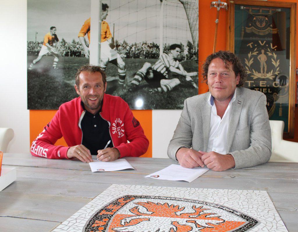Arjan van der Laan nieuwe trainer/coach TEC