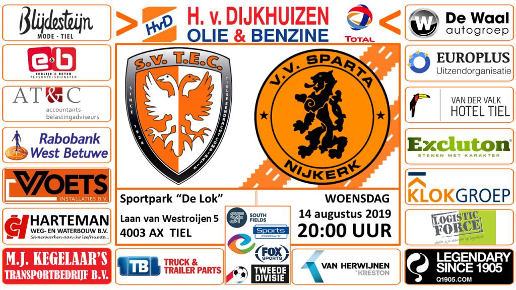 Oefenwedstrijd TEC - Sparta Nijkerk