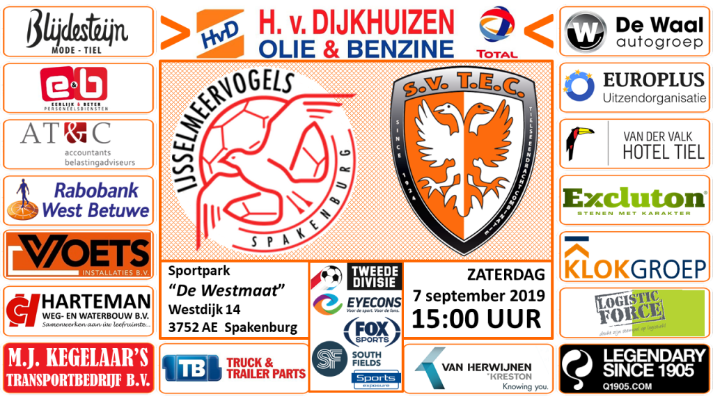 IJsselmeervogels - TEC | Tweede Divisie