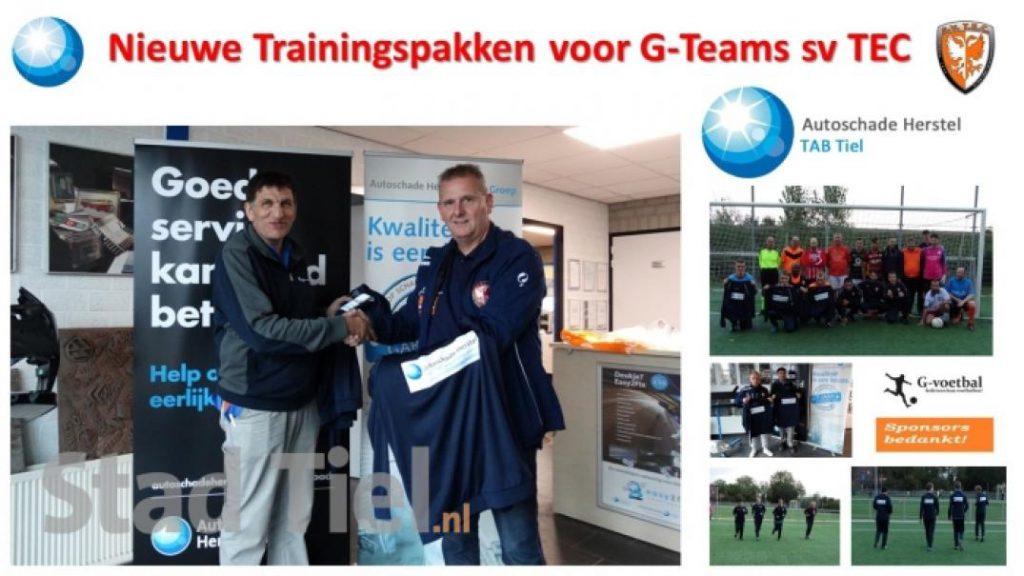 G-teams TEC in het nieuw