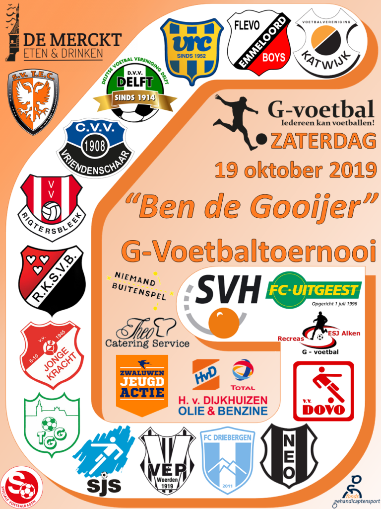Ben de Gooijer G-Voetbal Toernooi