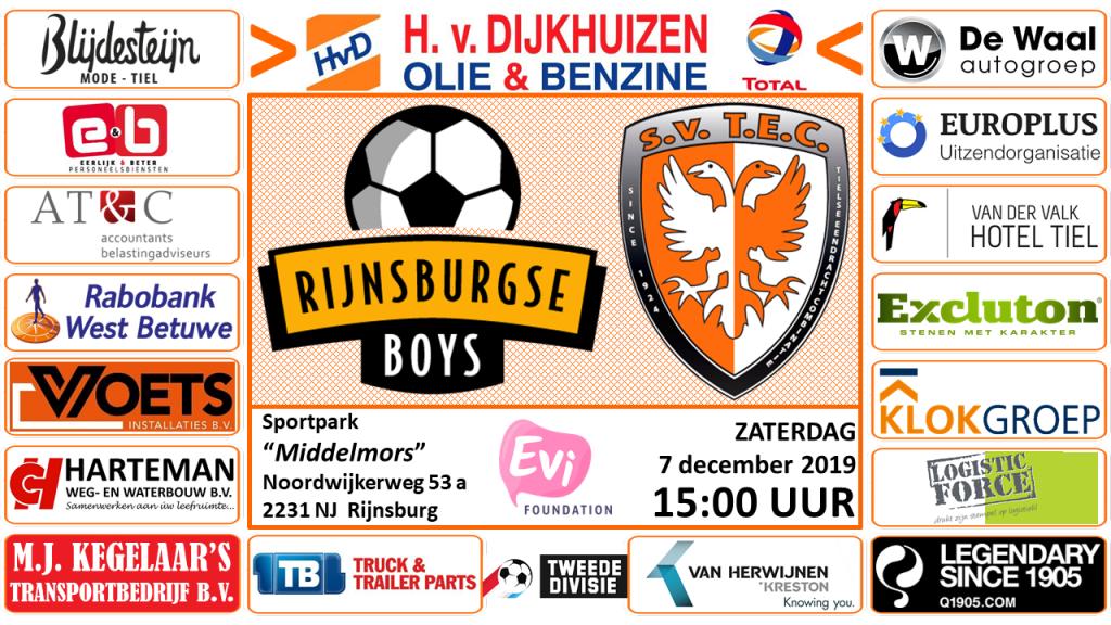 Rijnsburgse Boys - TEC