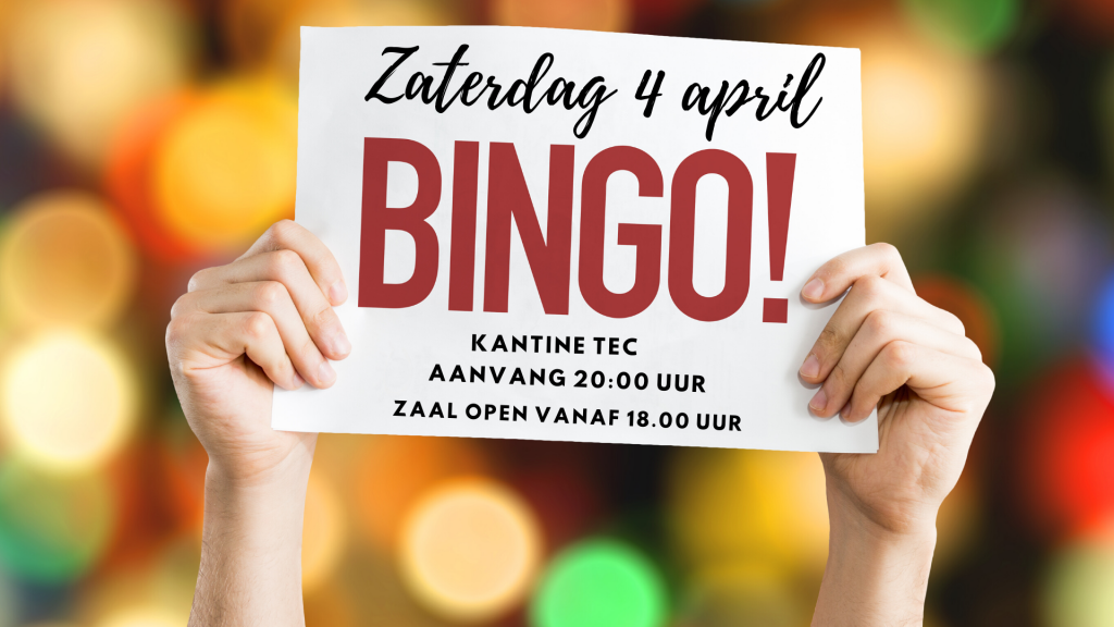 Superbingo en Ladiesnight in de kantine van TEC