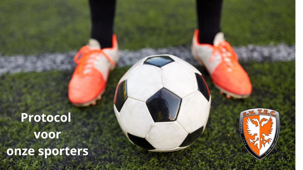 Protocol sporters | Met welke regels en maatregelen moet je als voetballer (jeugd t/m 18) bij onze club rekening houden nu de training weer hervat mag worden na de lockdown… #corona