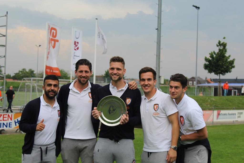 Serhat Koc, Nicky Kuiper, Sebastiaan van der Sman, Daan Disveld, Bart Westerlaken | Promotie TEC
