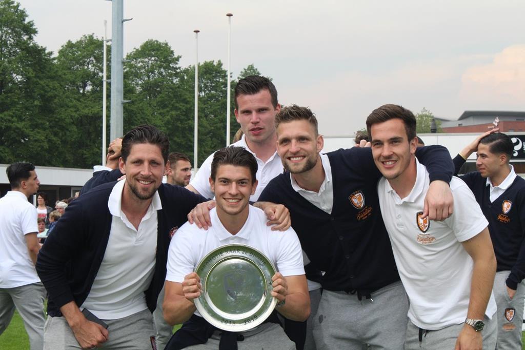 Nicky Kuiper, Bart Westerlaken, Migiel Zeller, Sebastiaan van der Sman, Daan Disveld | Promotie TEC TIEL