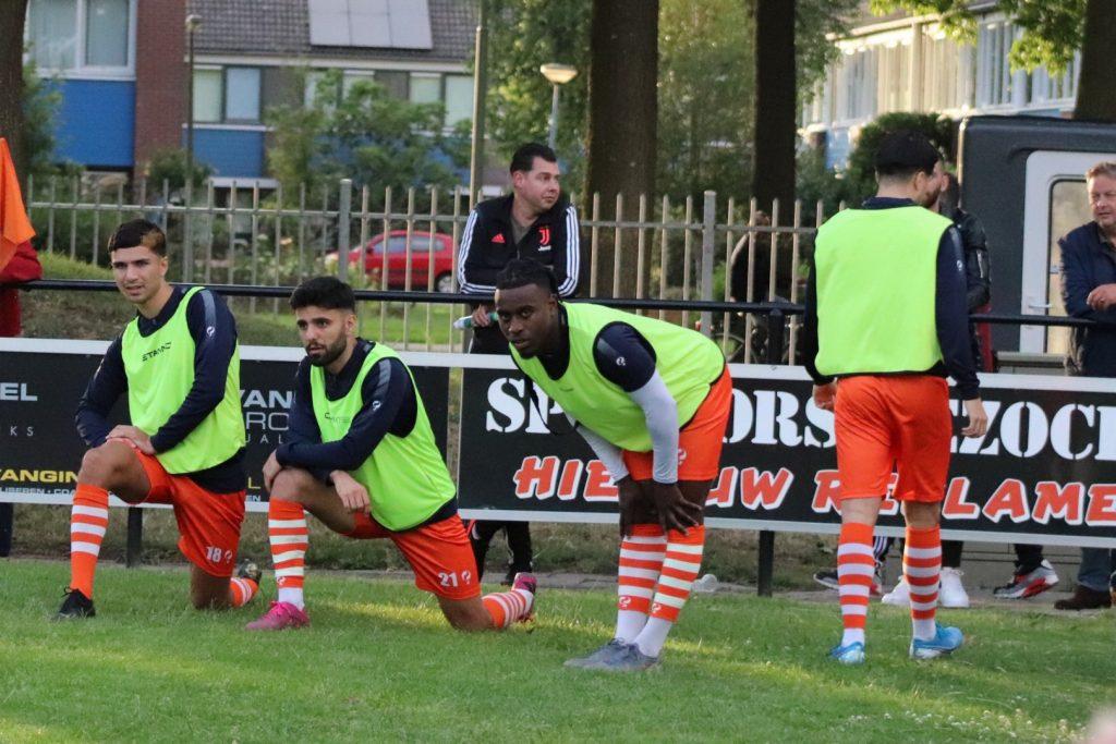 Oefenwedstrijd TEC - Sparta Nijkerk   1e voetbalwedstrijd na coronacrisis