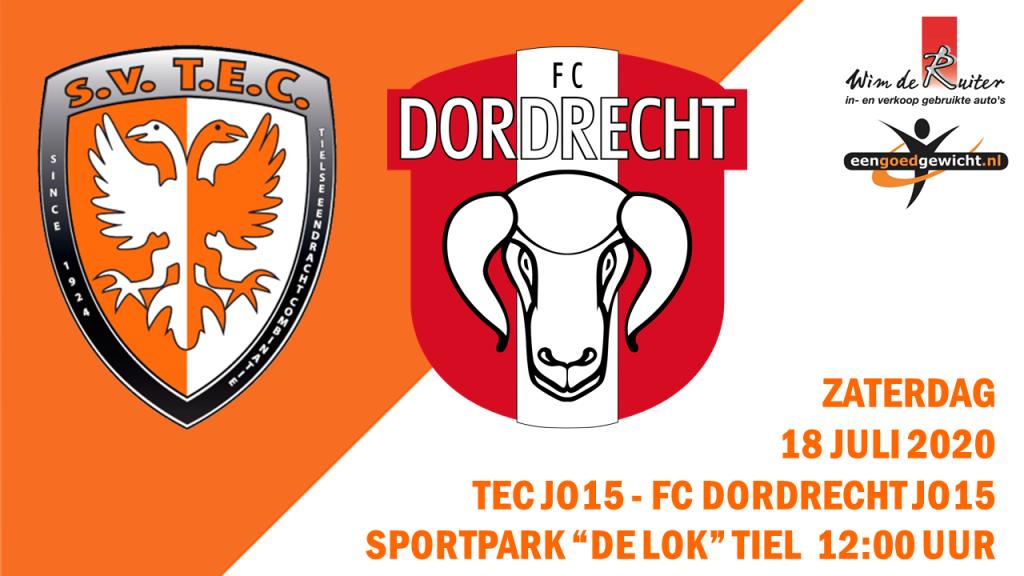 TEC JO15-1 vds FC Dordrecht JO15-1