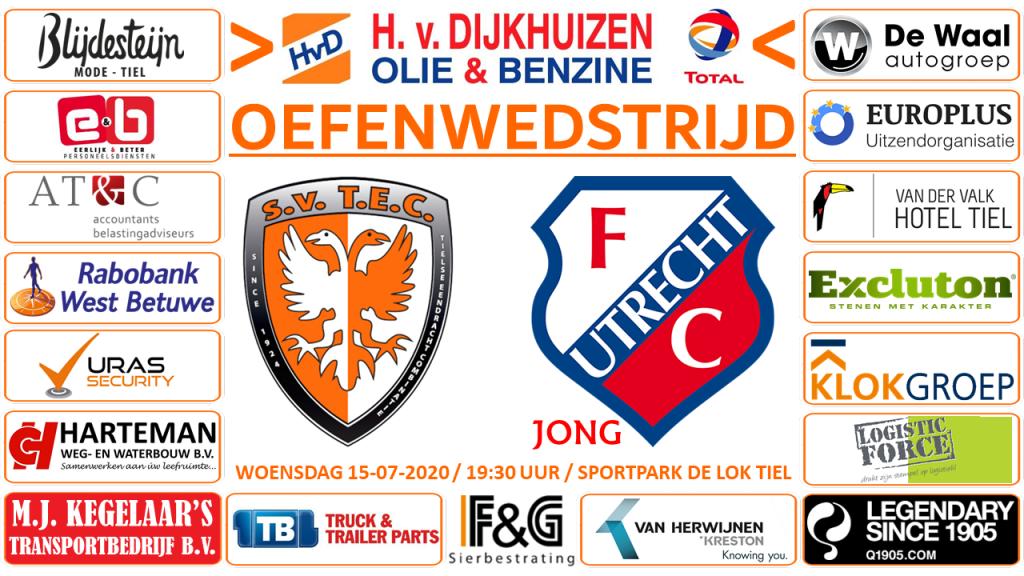 Oefenwedstrijd TEC - Jong FC Utrecht