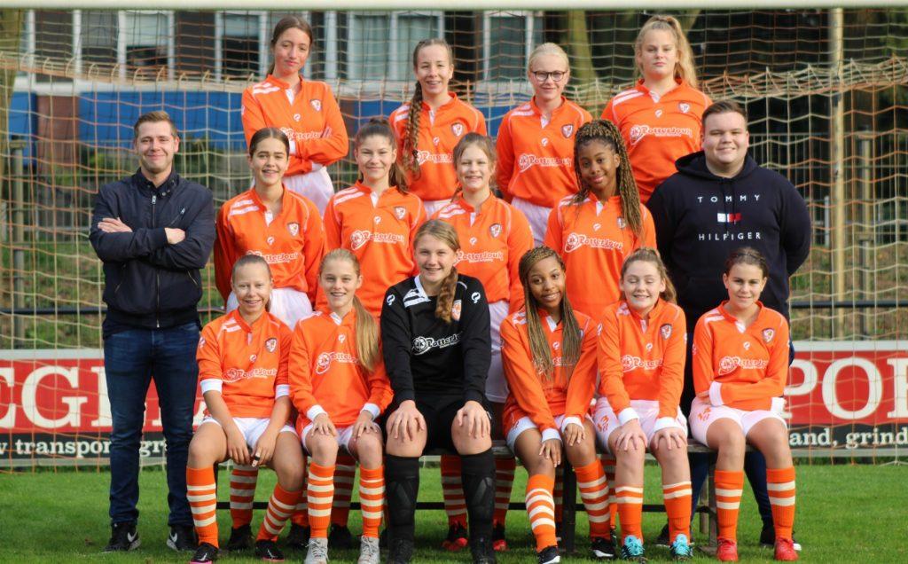 TEC MO15-1 | Het leukste meidenteam van Tiel | Meisjesvoetbal Tiel