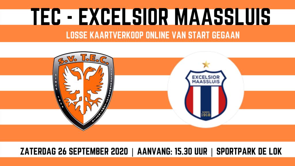 Online kaartverkoop TEC - Excelsior Maassluis