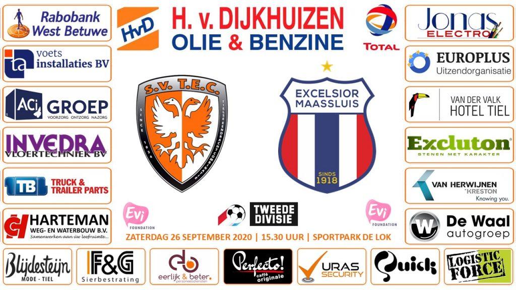 TEC - Excelsior Maassluis | Tweede Divisie | Registratie & losse verkoop
