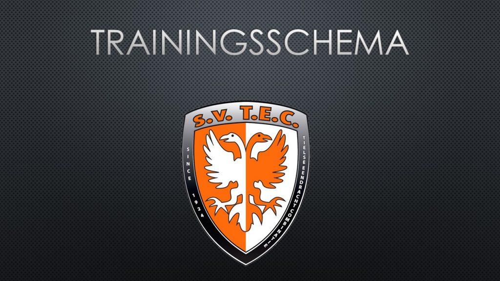 Trainingsschema TEC | Wanneer trainen de jeugd- en seniorenteams van TEC?