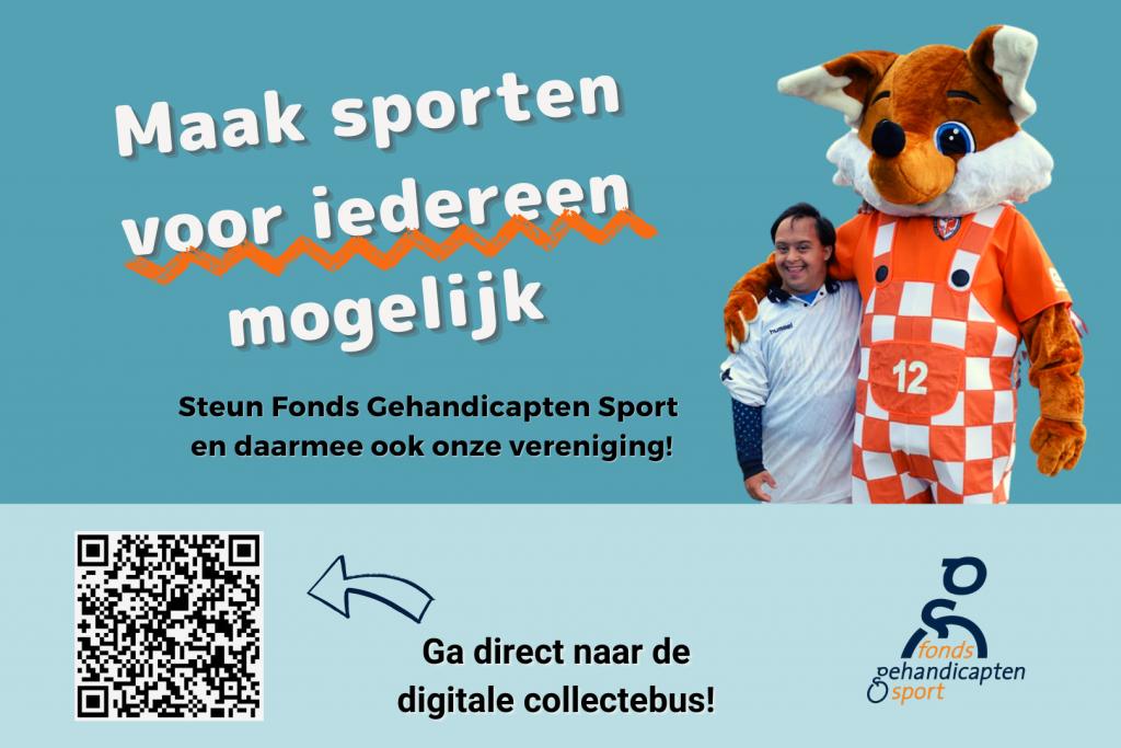collecteweek Fonds Gehandicapten Sport