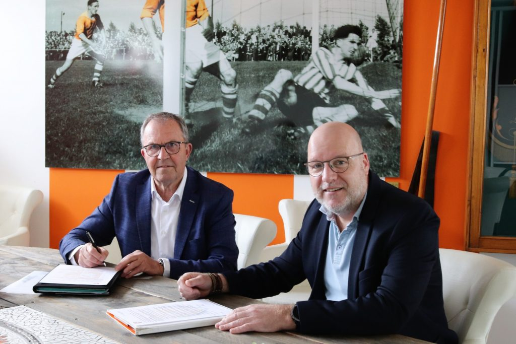 Jan Vissers en Bas ten Berge van Mettler Toledo | Business Club TEC Tiel
