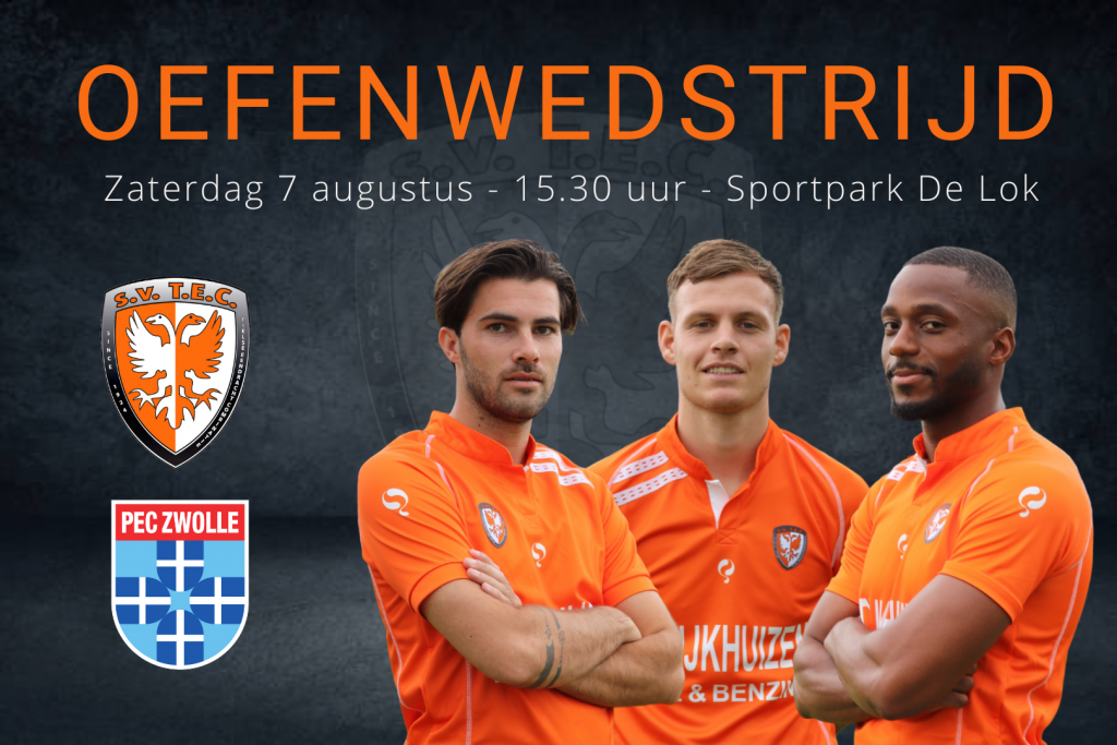 oefenwedstrijd TEC - PEC Zwolle O21