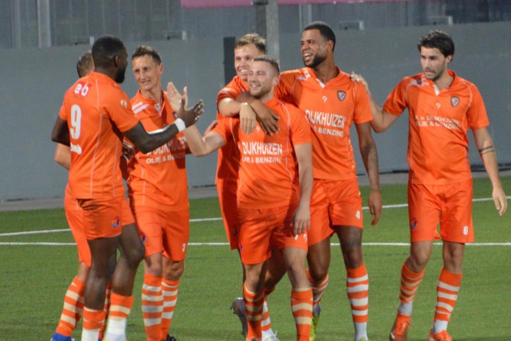 Bo van Essen scoort in de 89e minuut in de oefenwedstrijd tegen FC Den Bosch