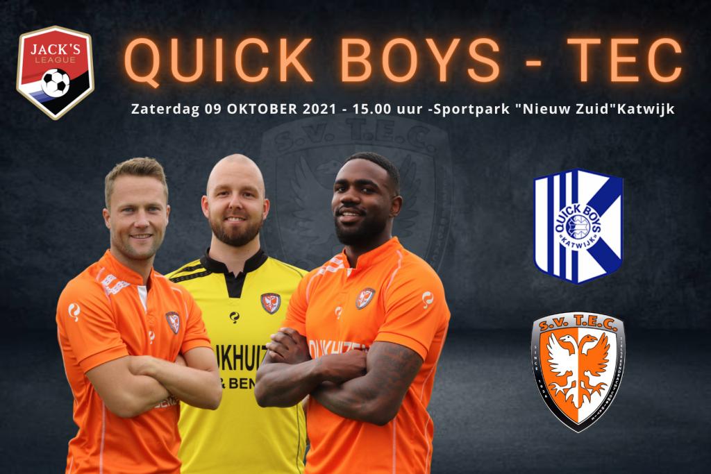 Quick Boys - TEC | Speelronde 8 | Jack's League